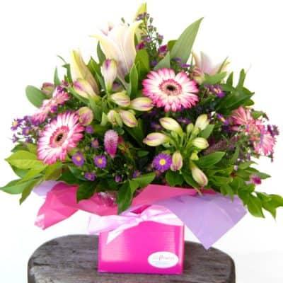 Boxed Flower Arrangements