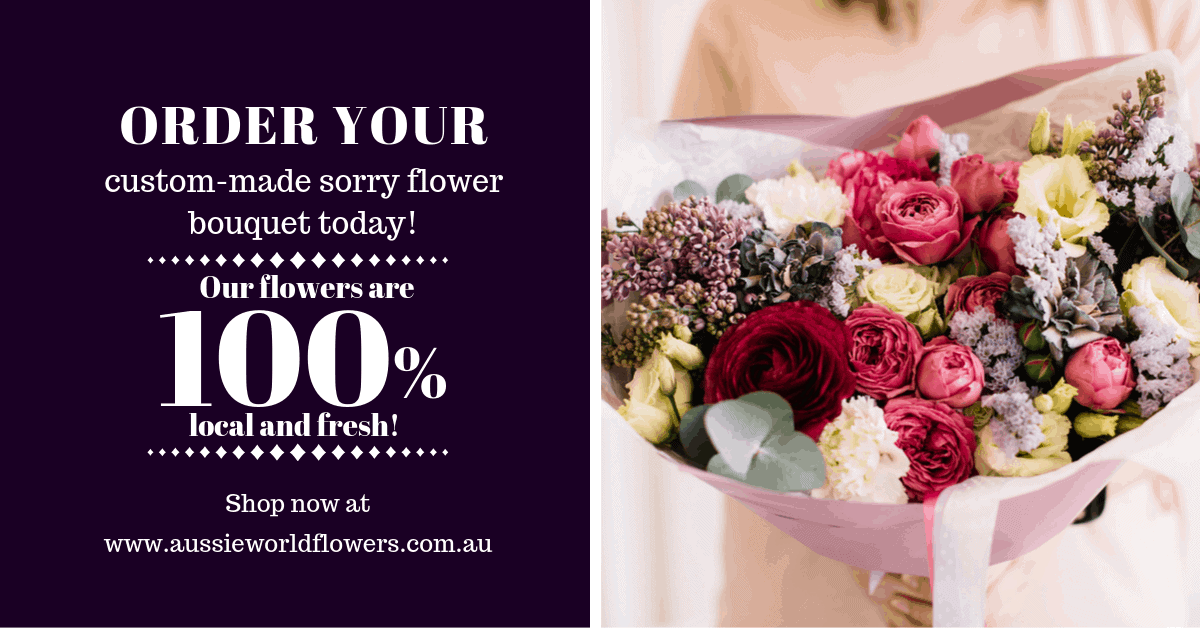 Sorry-Flowers-Custom-Made-Sunshine-Coast